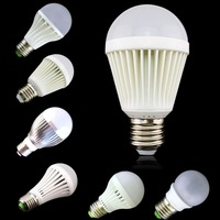 3pcs Topin 3W 7W 9W 10W 12W E27 E26 Led Bulb Lamp Day Light 110-230V Ultra Bright Free Shipping