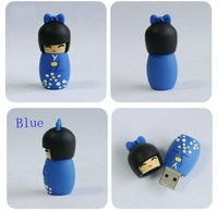 1-32GB Japanese dolls USB Flash Memory Pen Drive Stick