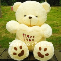 Free Shipping Large 70 cm Teddy Bear Stuffed Animals Toys Plush Doll, Giant Stuffed Bear Plush Toy For Girl Friend/Children