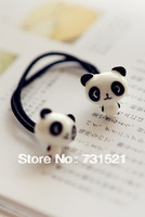 Free Shipping small animal big cartoon headband hair rope double slider