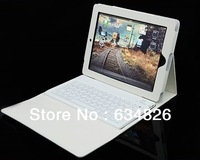 Bluetooth Wireless Keyboard with Leather Case Stand Cover for iPad 2 3 4th