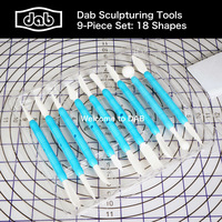 DAB baking tools cake decoration fondant tools set sculpture tools modeling form tools 9 pieces sugar art TS41013