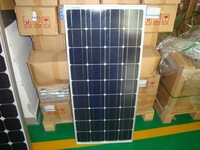 100w mono solar panels 10pcs free shipping 17% charging efficiency 25 years warranty