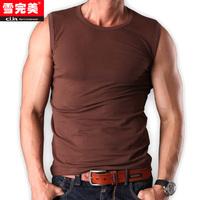 Man Body-building Undershirt 100% Cotton Sports Undershirt Man Vest