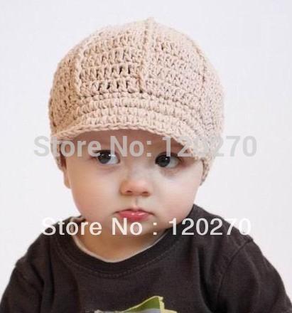 ... Hat Boys Girls Knitted Newsboy Cap Flower Hat Cowboys Cowgirls Beanie