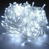 Free shipping 100 LED 10m EU Plug 6 color  8 modes String Light chrismas decoration for Party Wedding holiday XMAS
