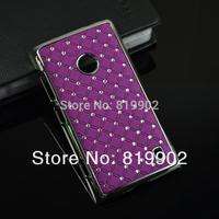 Luxury Bling Diamond Star rhinestone Hard Back Case Protective Cover for Nokia Lumia 520