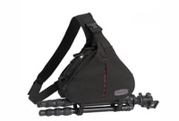 Free Shipping Caden K1 Shoulder Bag Triangle Carry Case (Khaki) for DSLR  Camera Lens