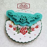 DAB Impression cookie cutter for cake decoration fondant gumpaste baking tools sugarcraft mold TS158