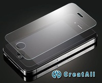 2pcs Explosion Proof Tempered Glass Film for iPhone 4 / iPhone 4S,toughened armoured membrane,Anti shatter screen protector