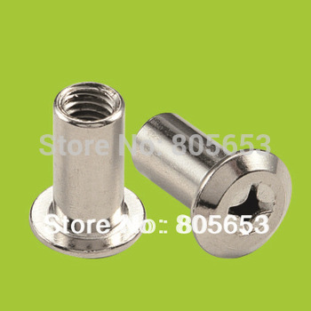 furniture fitting chrome plated iron nut  (N1611)