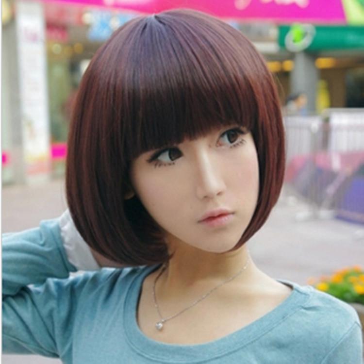 Astonishing Mushroom Bob Haircut Round Face Hairstyles Hairstyle Inspiration Daily Dogsangcom