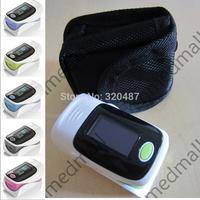 Protect bag & Alarm !! OLED Fingertip Pulse Oximeter Blood Oxygen SpO2 saturation oximetro monitor oxymetre pulso metros