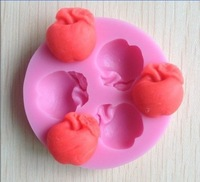 1PCS mold soap,fondant candle molds,sugar craft tools,Soap silicone , chocolate mold,apple silicone molds for cakes