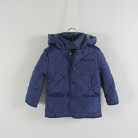 Retail+Free Shipping New 2014 Hooded Coats For Baby,Plaid thick cotton-padded clothes keep warm in winter,Children clothing