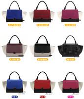 Fashion 2014 trapeze high quality big ears bag smiley bag one shoulder women's  Handbags