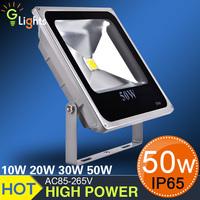 50pcs/lot 10W/ 20W/30W/50W led floodlight 110-265V  ip65, solar led flood light RGB high lumen led flood light 50w,