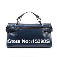 Lisa Micah 2013 new leather female header layer of leather wax leather motorcycle bag Messenger bag handbag bag