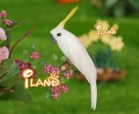 iland wholesale 1:12 Dollhouse miniature Pet Animal White Parrot PA016