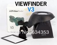 "2.8X 3""LCD Viewfinder Magnifier Eyecup Extender For Canon 600D 60D DSLR Camera V3"