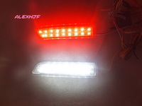 15 white LEDs+ 18 red LEDs /pc Car LED brake light with for TOYOTA RAV4  PREVIA ALPHARD / VELLFIRE ESTIMA GAIA IPSUM NADIA etc.