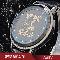 Anime One Piece The New World Luffy Brand New Water Resistant Touch Screen LED Watch