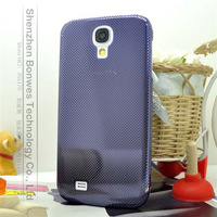 Ultra thin 0.3 mm Titanium alloy Metal Mesh Protective Case for Galaxy S4/ i9500 , free screen protector film