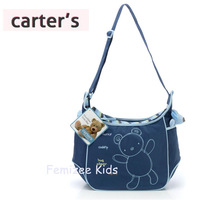 Hot Sale 4Color Carter's Cute Bear Baby Diaper Bags,Animal Print Maternity Bag for Mom,Bolsa Maternidade Bolsa De Bebe Nappy Bag