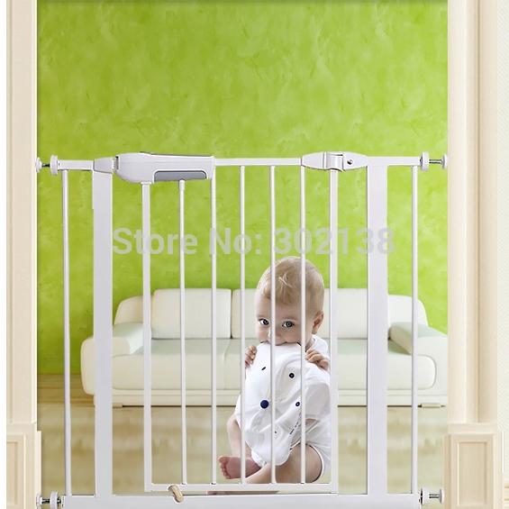 Domésticos não tóxico portões de segurança do bebê do Metal cão de estimação portão amigável(China (Mainland))