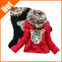 cheap price retail new sale 2013 children sweater 100% cotton girl basic winter autumn warm sweater