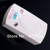 Free Express Shipping 1000pcs/lot  Electronic Ultrasonic Helminthes Machine Pest Mosquito Rat  Repellent