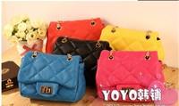 NEW Children's Bags Girls Chain Lingge Messenger Bag decompression bag Kids handbag 0717 cwy 25