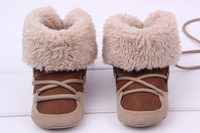 2014 Winter Baby Kids Girl Boy Shoe Boot High-Hatta,MOQ 1 Pair Free Shipping Retail Thicker warm Snow Baby sports  boots