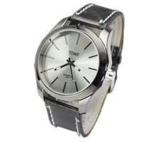 Man Watch Sports Quartz Round Dial  Men Wristwatch Military Watch Free Shipping