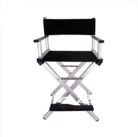 Aluminum alloy lighten-end sunrise combination portable professional beauty cosmetic chair bar stool