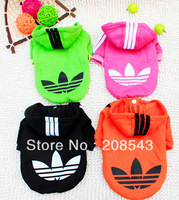 Free Shipping ! Autumn Teddy Pet Clothes Puppy Clothes Cotton Sweater Deer Winter Sports Chihuahua Dog