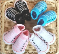 For 0-6 Months Baby's Gift Free Shipping Baby Outdoor Shoes Sock Infant Newborn Cotton Socks Fashion 20 Pairs/ lot  Wholesale