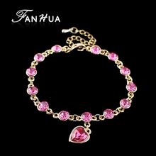 wholesale heart charm bracelet