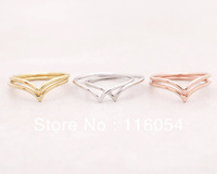 2013 Hot Wholesale Fashion Jewelry midi ring SET of 2 Stacking Chevron Rings silver comforter set  Free Shipping Drop Shipping