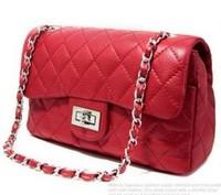 free shipping 2013 hot women bags handbag lady pu leather,chain shoulder bags women,4 color