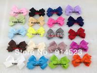 20 colors,200pcs/lot,8cm,Barrettes,hair ribbon,ribbon bows for children