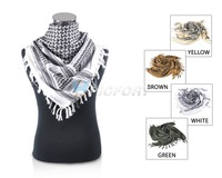 Military Tactical Arab Shemagh Keffiyeh Head Wrap Desert Scarf Mask 4 colors-CL00028
