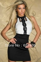 FREE SHIPPING!(10pieces)100% Brand New Women's Sexy lingerie/Classic Sequin Bandage Dress,LC2863,midi dress