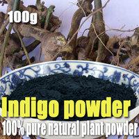 100% pure natural plant powders Indigo powder 100g Pore Minimizing Soap Additives Handmade Soap natural color dye Mask Powder