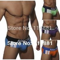 Free Shipping!New Wholesale Fashion Cotton Men's Briefs/Men's Underwear AD12 Mix Order 10pcs/lot