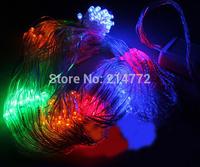 Xmas LED Net Light Multicolor 96 LED Web Fairy Lights 1.5m x 1.5m Led String Lamp For Christmas Decoration Free Shipping