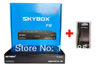 2013 Latest Satellite TV Receiver SKYBOX F6 Original HD full 1080p PVR With Free USB Wifi Antenna youtube youpron free Shipping!