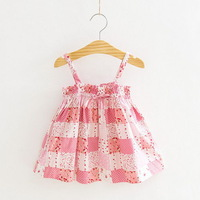 2013 New,girls slip dress,children beach dress,babys tee dress,100%cotton,1-6 yrs,5 pcs / lot,wholesale kids clothing online