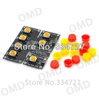 Removable Combined Key Expansion Board Module - Black + Yellow + Red