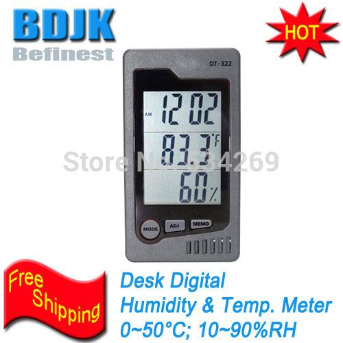 Desktop Digital Hygrometer & Thermometer Indoor C/F Humidity and Temperature Meters(China (Mainland))
